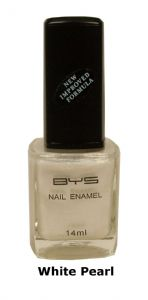 <b>BYS Nail Polish - White Pearl No. 36</b>